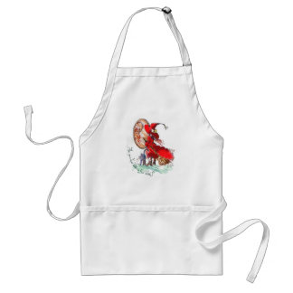 Are You A Good WItch or a Bad Witch? Adult Apron