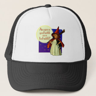 Are You a Good Witch Trucker Hat