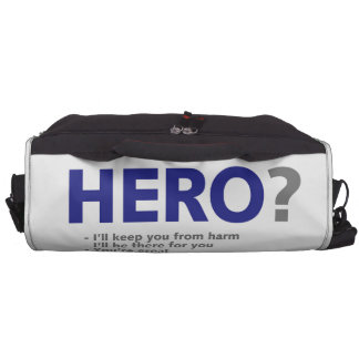 Are you a Hero? Laptop Commuter Bag