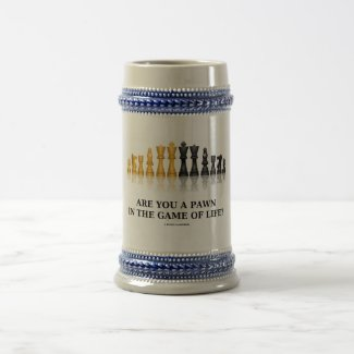 Are You A Pawn In The Game Of Life? (Chess Humor) Coffee Mugs
