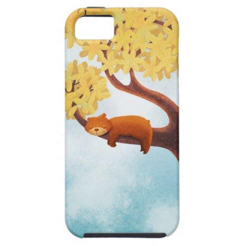 A Sleepy Bear | Cute Apple iPhone 5/5S Case
