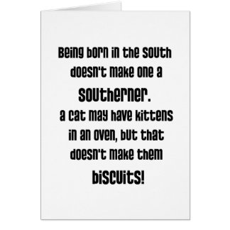 Are you a Southerner? Card