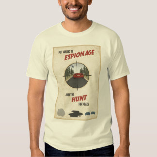 Are you a spy? t-shirt