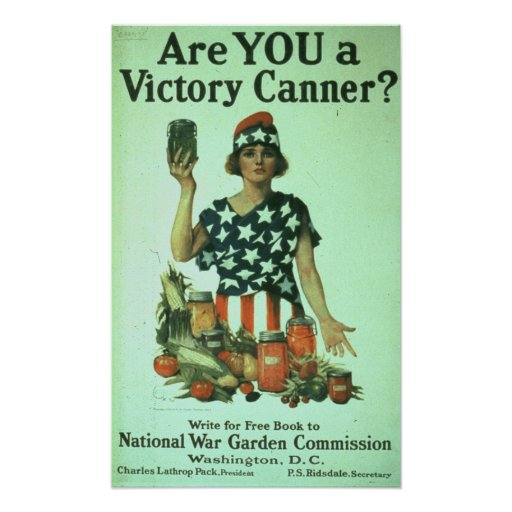 """""""Are You a Victory Canner?"""" Poster"""