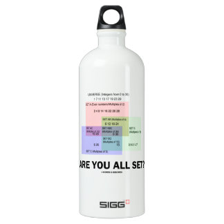 Are You All Set? (Math Set Theory Attitude) SIGG Traveler 1.0L Water Bottle