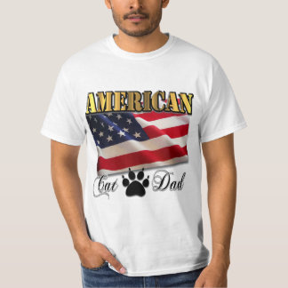 Are you an American Cat Dad? T-Shirt