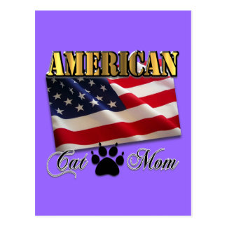 Are you an American Cat Mom? Postcard