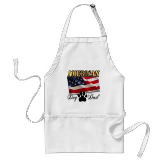 Are you an American Dog Dad Adult Apron