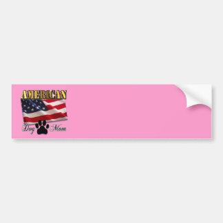 Are you an American Dog Mom? Bumper Sticker
