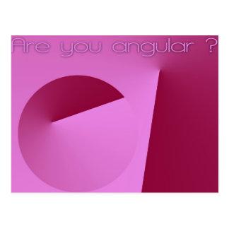 Are you angular ? postcards