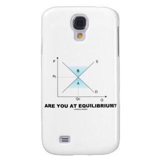Are You At Equilibrium? (Supply-And-Demand Curve) Galaxy S4 Case