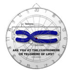 Are You At The Centromere Or Telomere Of Life? Dartboard