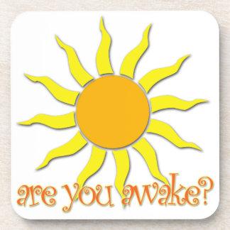 Are You Awake? Drink Coaster