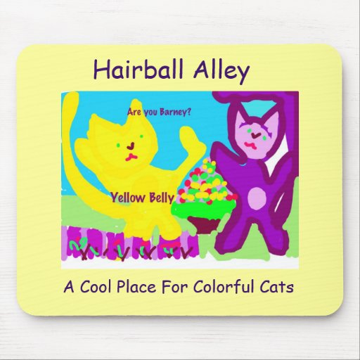 Are You Barney?-Yellow Belly & MTMC Mouse Pad