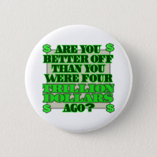 Are You Better Off Pinback Button