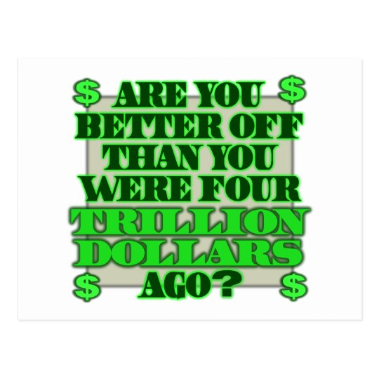 Are You Better Off Postcard