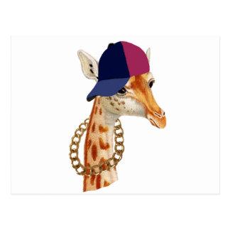 Are You Chaving a Giraffe London Cockney Slang Postcard