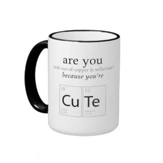 Are You Cute Nerdy Science Geek Humor Mug
