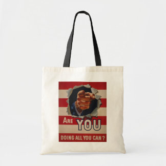 Are you doing all you can? canvas bags