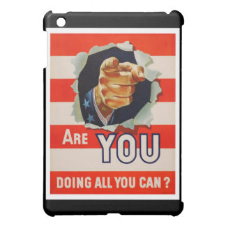 Are You Doing All You Can? - WW2 Case For The iPad Mini