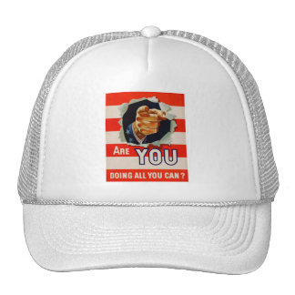 Are You Doing All You Can? - WW2 Trucker Hat