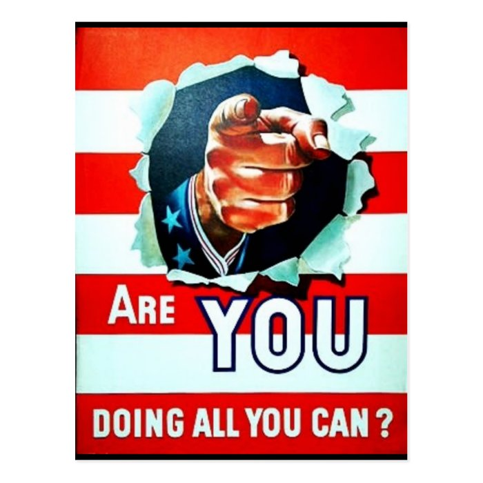 Are You Doing All Youcan Postcard