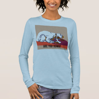 are you down? long sleeve T-Shirt