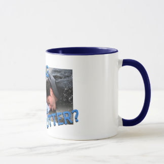 """Are You Drinking in the Gutter?"" Mug"