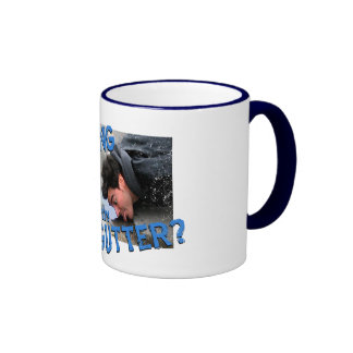 """""""Are You Drinking in the Gutter """" Coffee Mugs"""