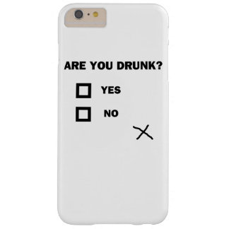 Are You Drunk? Barely There iPhone 6 Plus Case