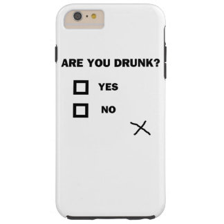 Are You Drunk? Tough iPhone 6 Plus Case