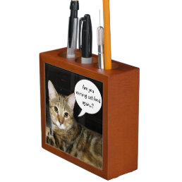 Are you earning Cat Food again..? Pencil Holder