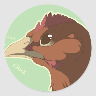 Are You Feeling Clucky? Classic Round Sticker