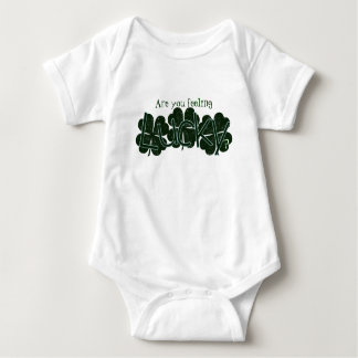 Are You Feeling Lucky? Baby Bodysuit