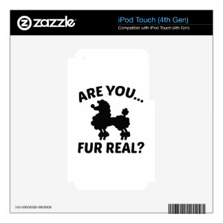 Are You Fur Real? Skin For iPod Touch 4G