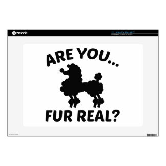 """Are You Fur Real? Skins For 15"""" Laptops"""
