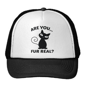 Are You Fur Real? Trucker Hat