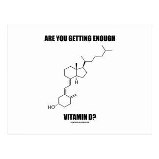 Are You Getting Enough Vitamin D? Cholecalciferol Postcards