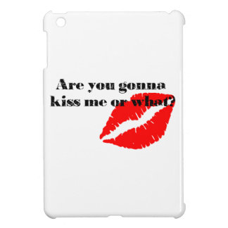 Are you gonna kiss me or what? cover for the iPad mini