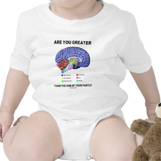 Are You Greater Than The Sum Of Your Parts? Brain T-shirt
