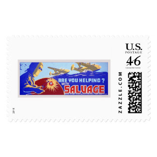 Are you helping?  Salvage - WPA Postage Stamps