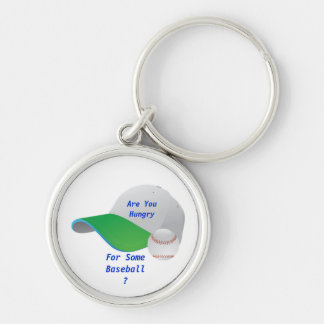 Are You Hungry for Some BaseBall Keychain