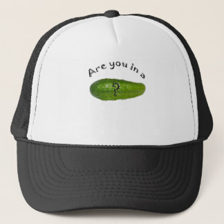 Are you in a pickle trucker hat