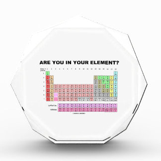 Are You In Your Element? Periodic Table Humor Award