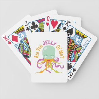 Are You Jelly Bicycle Playing Cards