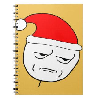 are you kidding me xmas meme note books