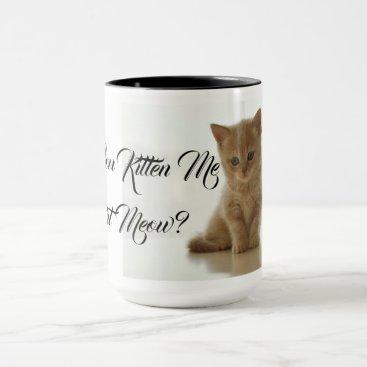 Lawyer Themed Are You Kitten Me Cat Pet Cute Destiny Destiny'S Mug