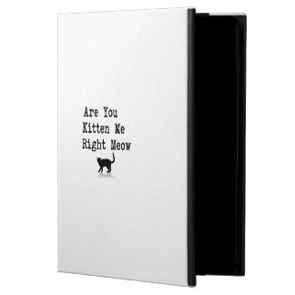 Are you Kitten Me Right Meow Powis iPad Air 2 Case