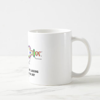 Are You Leading Or Lagging In The Strands Of Life? Classic White Coffee Mug