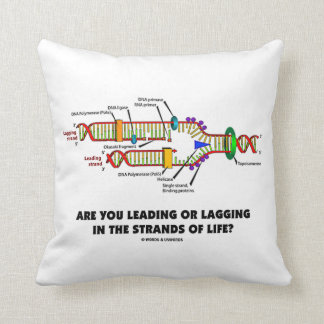 Are You Leading Or Lagging In The Strands Of Life? Pillows